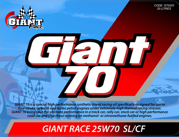 GIANT 70 25W70 – Available sizes: 5L, 20L