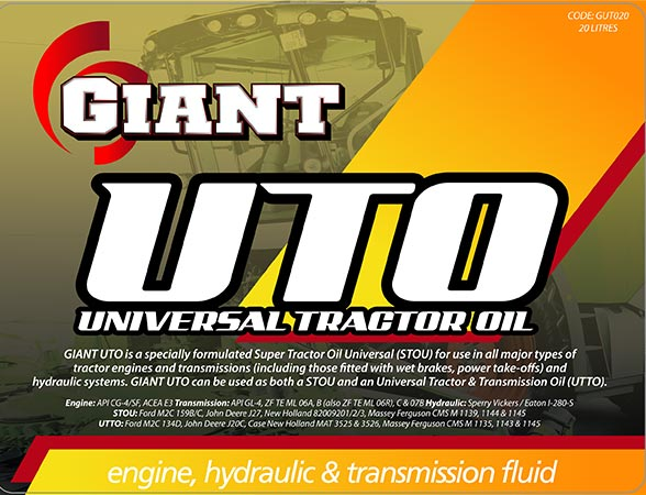 GIANT UTO – Available sizes: 5L, 20L, 200L